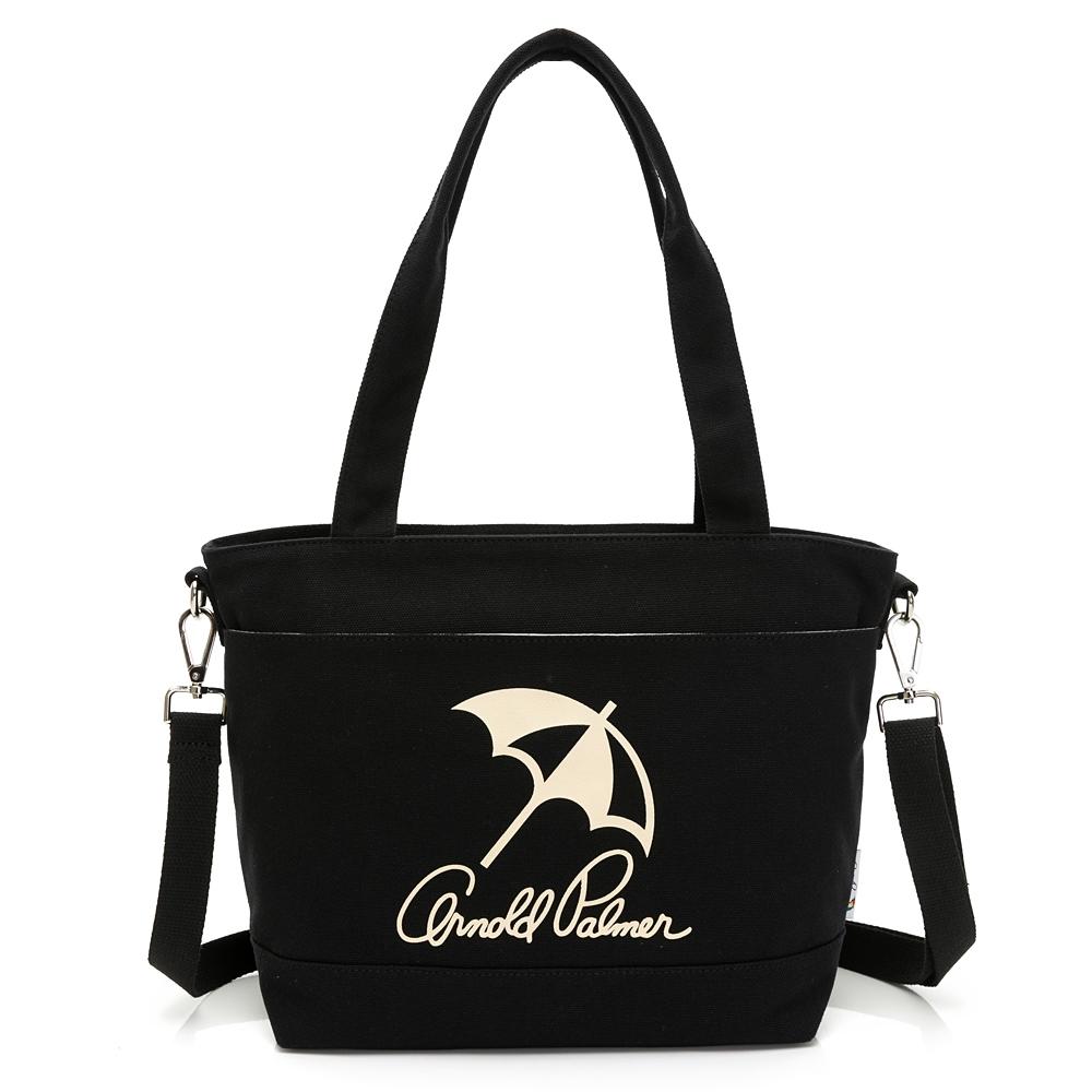 Arnold Palmer -2WAY手提包 經典LOGO系列 -黑色