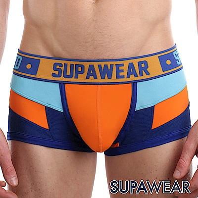 SUPAWEAR Spectrum系列超彈性型男四角內褲(橘色)