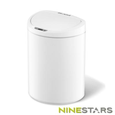 美國NINESTARS感應式掀蓋垃圾桶DZT-10-29S