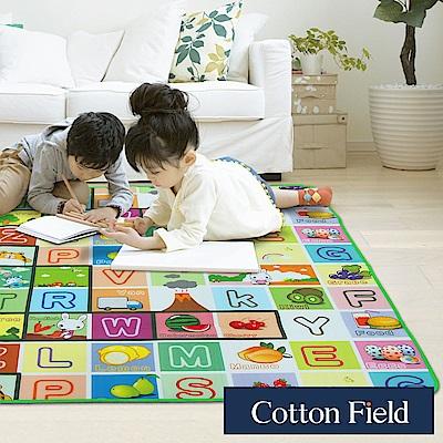 棉花田 單字ABC 遊戲郊遊學步防潮萬用墊(150x180cm)
