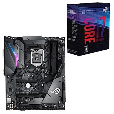 雅虎價Intel i7-8700K華碩ROG STRIX Z370-F主機板