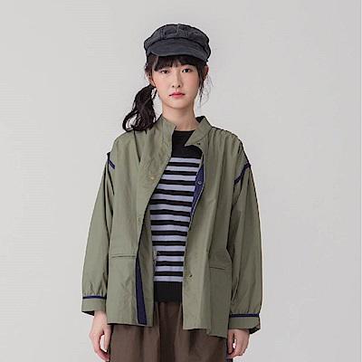 MOSS襯衫造型大衣外套