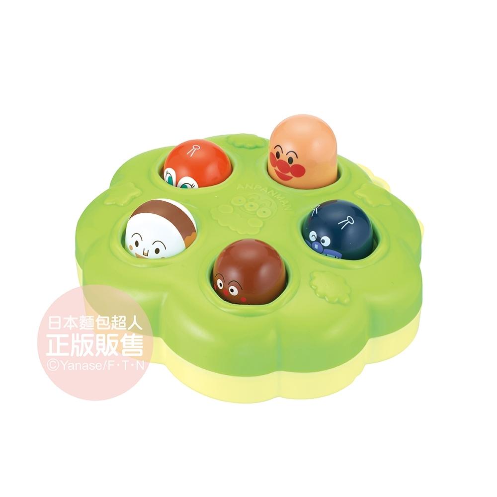 ANPANMAN 麵包超人-手指訓練玩具 躲貓貓我最行♪(10m+/安撫玩具/手眼協調訓練/附有懸掛孔)