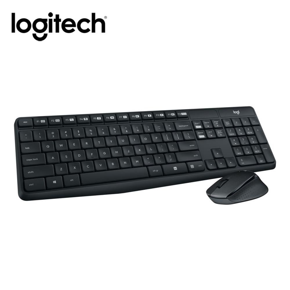羅技 MK315無線靜音鍵盤滑鼠組