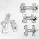 HE012 不鏽鋼打掛鎖 掛扣門栓/門閂/門扣/門止/門鎖 閂長43 mm 小號