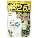 日本P&G3D立體2.5倍洗衣果凍膠囊補充包-植物花草香氛(38顆入)