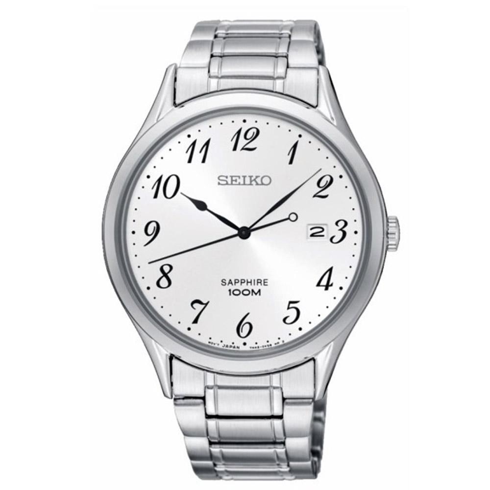 SEIKO 精工 CS時尚簡約紳士風格腕錶(7N42-0FW0W/SGEH73P1)