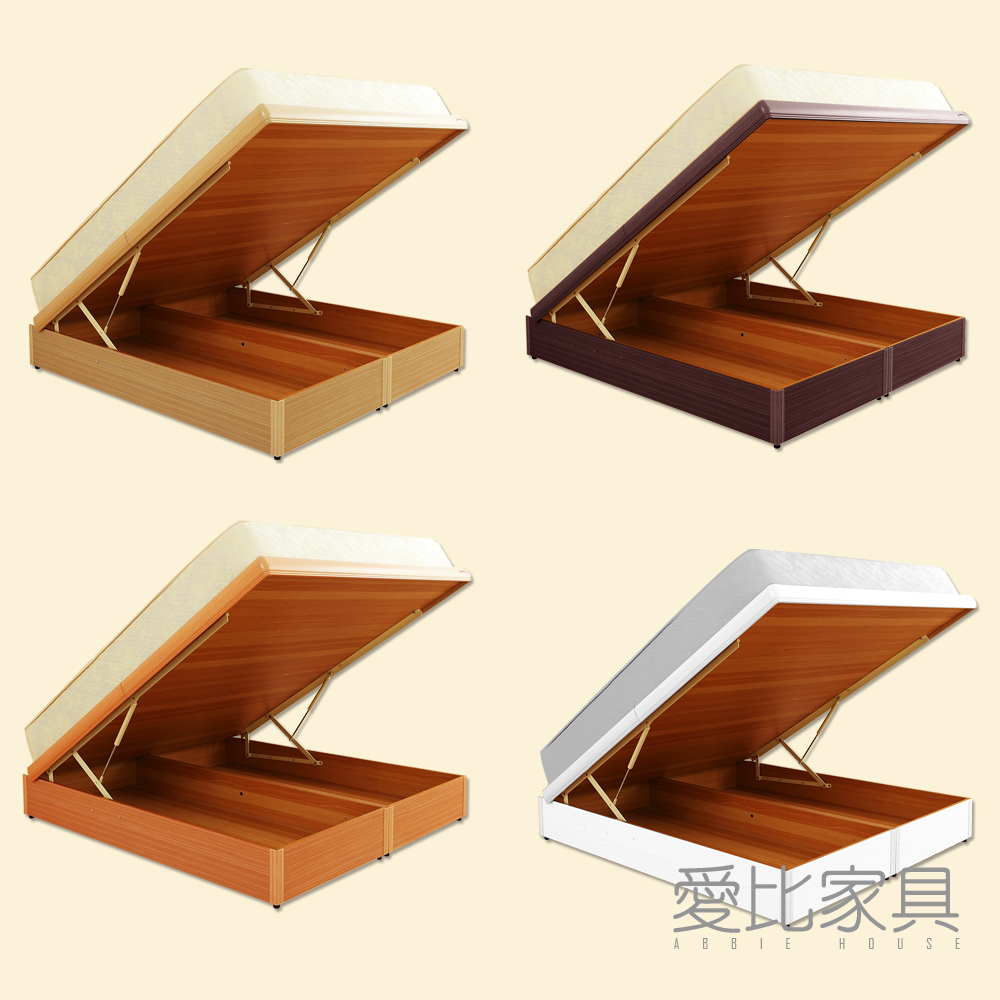 愛比家具 收納6尺雙人加大330磅數+安全裝置尾掀床(不含床墊) @ Y!購物