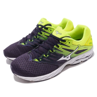 Mizuno 慢跑鞋 Wave Shadow 2 寬楦 男鞋