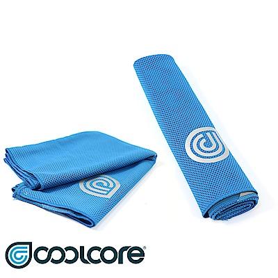 COOLCORE Chill Sport涼感運動巾 藍色