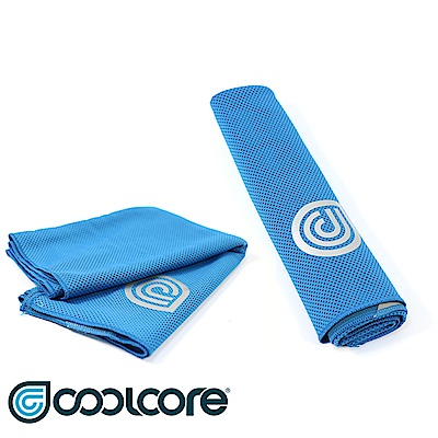 COOLCORE Chill Sport 涼感運動巾 藍色(涼感,降溫,運動)