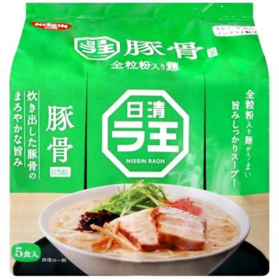 日清食品 全麥拉王5食袋裝麵-豚骨味(415g)
