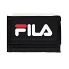 FILA 三摺運動短夾 黑白紅