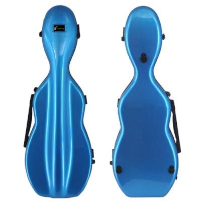 JYC Music JV-2001藍色刷線~4/4小提琴三角盒(僅重1.96kg )