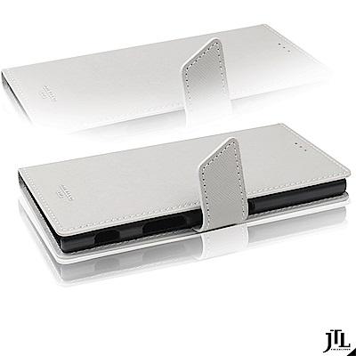 JTL SONY Xperia XZ Premium Saffiano 側掀皮套