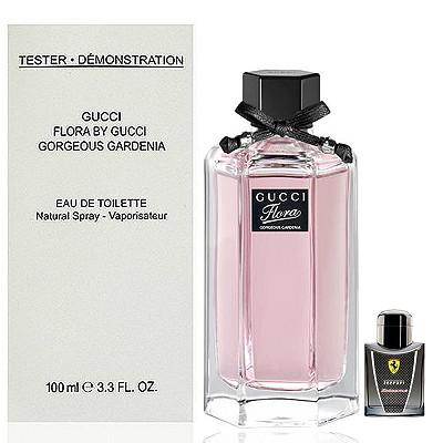 Gucci Gardenia 華麗梔子花淡香水 100ml Tester 隨機搭贈小香