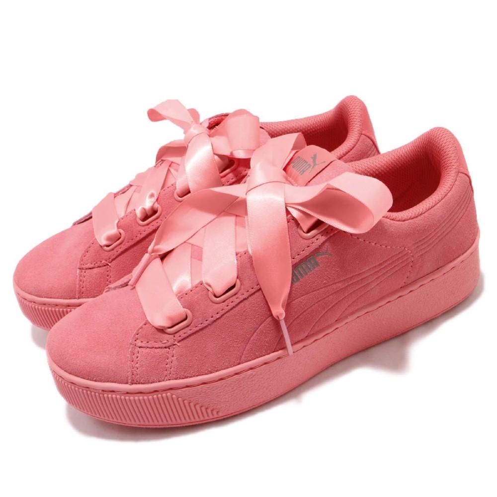 Puma Vikky Platform Ribbon 女鞋