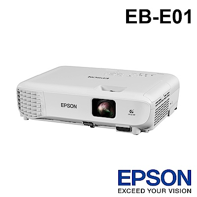 EPSON EB-E01 商務應用投影機 ★送★Google Nest Mini 智慧音箱 (隔月配送)