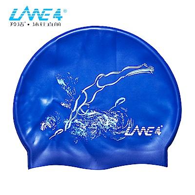 羚活 兒童矽膠泳帽 跳水 LANE4 SILICONE CAP