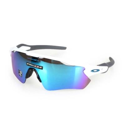 OAKLEY RADAR EV PATH一般太陽眼鏡附硬盒鼻墊 白藍