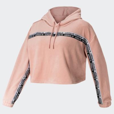 adidas R.Y.V. 粉紅 運動休閒長袖上衣 女款 GI1116