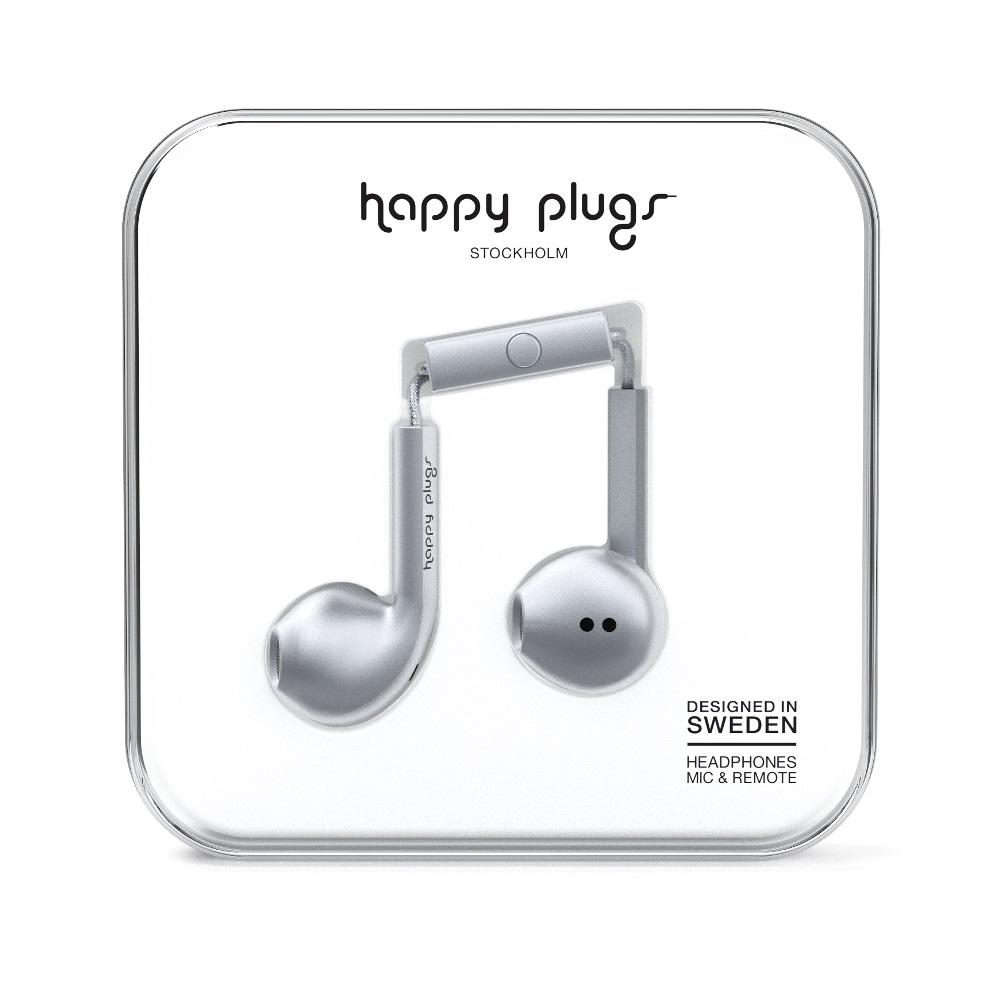 Happy plugs 極致耳塞式耳機 奢華限定款-太空灰