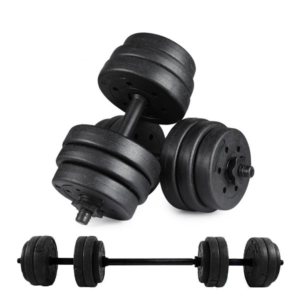 歐美熱銷 環保槓鈴啞鈴兩用組合 健身器材 舉重 核心訓練(25KG) @ Y!購物