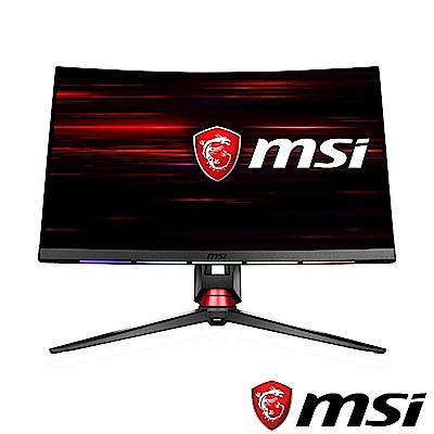 [無卡分期12期] MSI微星 Optix MPG27C 27型 1800R曲面電競螢幕