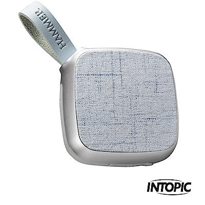 INTOPIC 廣鼎 震撼音質藍牙喇叭(SP-HM-BT176/銀色)