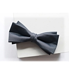 Laifuu拉福,剪翼精品中折領結新郎結婚領結糾糾(深灰款)