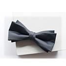 Laifuu拉福,剪翼精品中折領結新郎結婚領結糾糾兒童領結(深灰款)