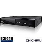 奇巧 H.265 5MP 8路4聲 台灣製造 五合一數位高清監控錄影主機