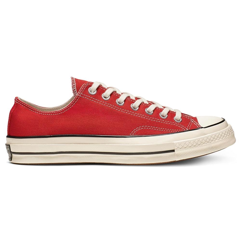 CONVERSE CHUCK 70 OX 經典款 中 低筒休閒鞋 紅 164949C