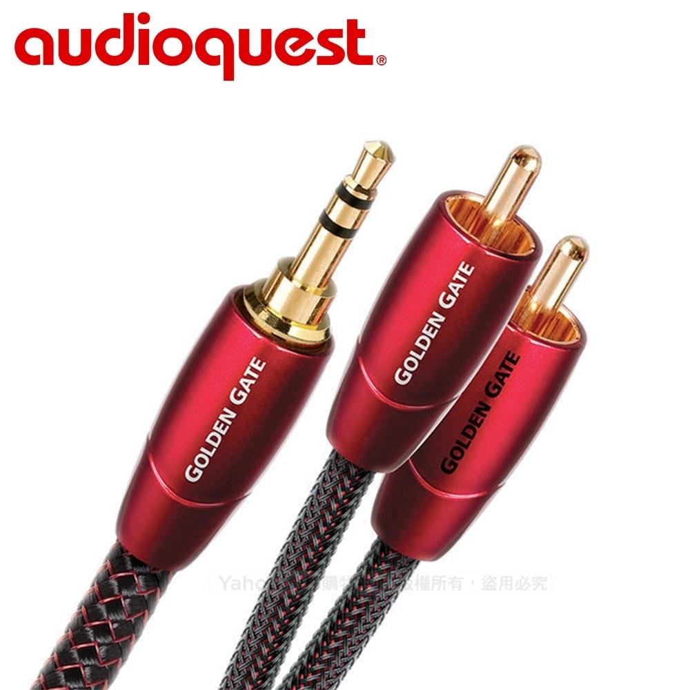 美國 Audioquest Golden Gate訊號線(3.5mm-RCA) -3M