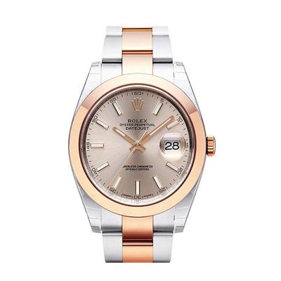 ROLEX 勞力士 Datejust 126301蠔式恆動腕錶x玫瑰金x41mm