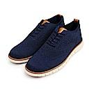 BuyGlasses 時尚造型網布休閒鞋-藍