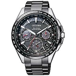 CITIZEN星辰 GPS衛星對時鈦金屬限定款男錶(CC9015-62E)-43.5mm
