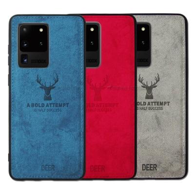 DEER 三星 Samsung Galaxy S20 Ultra 北歐復古風 鹿紋手機殼