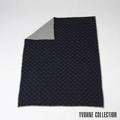 Yvonne Collection 豬豬雙人四季萬用毯- 丈青