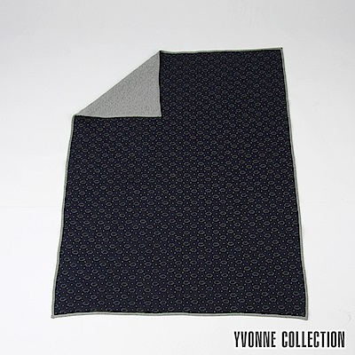 Yvonne Collection 豬豬加大四季萬用毯- 丈青