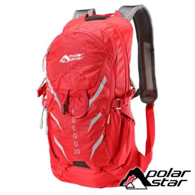 【PolarStar】休閒透氣背包20L『紅』P18727