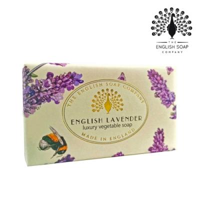 The English Soap Company 乳木果油復古香氛皂-英國薰衣草 Vintage English Lavender 190g