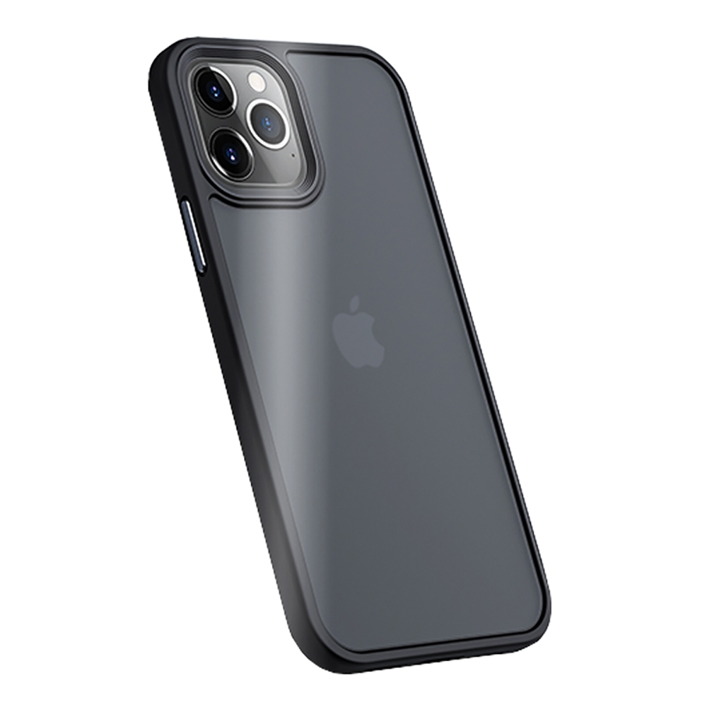 "Benks iPhone12 / 12 Pro (6.1"") 防摔膚感手機殼-霧黑"