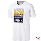 PUMA GOLF 高爾夫球短袖T恤 白色 歐規 579478 01