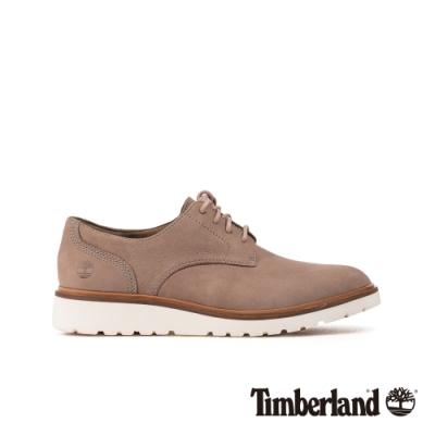 Timberland 女款中灰色磨砂革牛津休閒鞋|A1MLQ