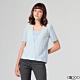 G2000印花短袖休閒T恤-水藍色 product thumbnail 1
