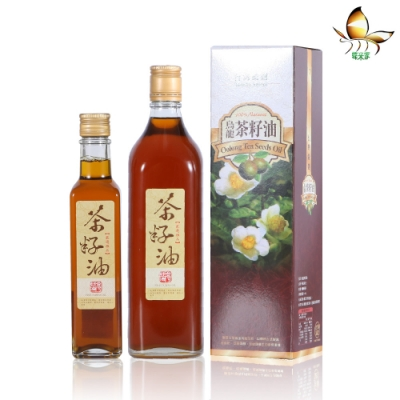 蝶米家 好禮油禮盒(茶籽油600ml、茶籽油250ml)