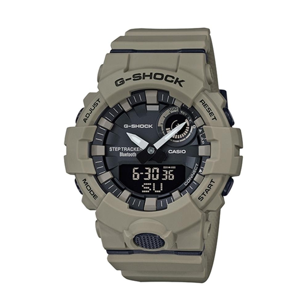 CASIO卡西歐G-SHOCK系列戶外風手錶GBA-800UC-5A-棕褐/48.6mm