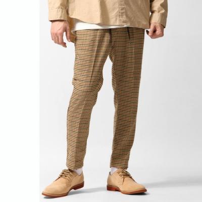 ZIP日本男裝 格紋長褲錐形褲九分褲(3色)
