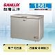 SANLUX台灣三洋 186L 上掀式冷凍櫃 風扇式無霜 SCF-186GF product thumbnail 1